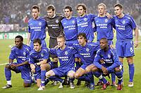 Fotball<br /> Foto: Dppi/Digitalsport<br /> NORWAY ONLY<br /> <br /> FOOTBALL - CHAMPIONS LEAGUE CUP 2005/2006 - 1ST ROUND - GROUP G - RSC ANDERLECHT v CHELSEA FC - 23/11/2005<br /> <br /> CHELSEA TEAM (BACK ROW LEFT TO RIGHT : JOHN TERRY / PETR CECH / ASIER DEL HORNO / RICARDO CARVALHO / EIDUR GUDJOHNSEN / FRANCK LAMPARD. FRONT ROW : MICHAEL ESSIEN / JOE COLE / DAMIEN DUFF / HERNAN CRESPO / WILLIAM GALLAS)