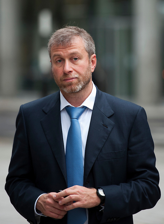 Roman Abramovich at lunchtimeThe High Court on October 13, 2011 in London, England. Mr Berezovsky is alleging a breach of contract over business deals with fellow Russian and Chelsea Football Club owner Roman Abramovich and is claiming more than £3.2bn in damages..