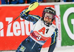14.01.2020, Hermann Maier Weltcupstrecke, Flachau, AUT, FIS Weltcup Ski Alpin, Slalom, Damen, 2. Lauf, im Bild Anna Swenn Larsson (SWE) // Anna Swenn Larsson of Sweden reacts after her 2nd run of women's Slalom of FIS ski alpine world cup at the Hermann Maier Weltcupstrecke in Flachau, Austria on 2020/01/14. EXPA Pictures © 2020, PhotoCredit: EXPA/ Erich Spiess