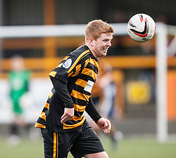 Alloa Athletic's Ryan McCord.<br /> Alloa Athletic 3 v 0 Falkirk, Scottish Championship game played today at Alloa Athletic's home ground, Recreation Park.<br /> © Michael Schofield.