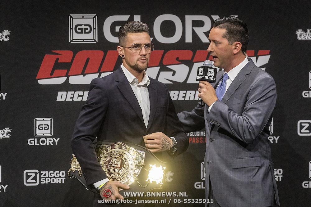 NLD/Amsterdam/20161101 - Glory persconferentie Verhoeven & Badr Hari, Nieky Holzken