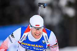 March 9, 2019 - –Stersund, Sweden - 190309 Lukasz Szczurek of Poland competes in the Men's 10 KM sprint during the IBU World Championships Biathlon on March 9, 2019 in Östersund..Photo: Petter Arvidson / BILDBYRÃ…N / kod PA / 92252 (Credit Image: © Petter Arvidson/Bildbyran via ZUMA Press)