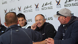 Bertrand Pace, Aleph Sailing Team 9centre). St Moritz Match Race 2010. World Match Racing Tour. St Moritz, Switzerland. 4th September 2010. Photo: Ian Roman/WMRT.