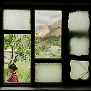 Fruit trees, potatoes, wheat, and barley surround most Wakhi homes. The crops can grow in the short summer.