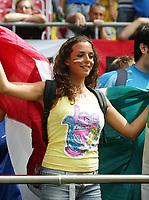 Foto Omega/Colombo<br /> 26/06/2006 Campionati Mondiali di Calcio 2006<br /> Ottavi di Finale <br /> Italia -Australia  <br /> nella foto : i tifosi Italiani