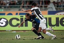 Bari (BA) 21.07.2012 - Trofeo Tim 2012. Inter - Juventus. Nella Foto: Palacio (I) e Masi (J)