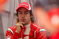 MOTORSPORT - F1 2011 - CHINA GRAND PRIX - SHANGHAI (CHN) - 14 TO 17/04/2011 - PHOTO : FRANCOIS FLAMAND / DPPI - <br /> ALONSO FERNANDO (SPA) - FERRARI F150 - AMBIANCE PORTRAIT