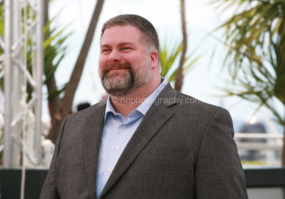 Director Dean DeBlois at the photocall for the film How to Train Your Dragon 2 at the 67th Cannes Film Festival, Friday 16th May 2014, Cannes, France.