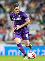 ACF Fiorentina's Jordan Veretout during Santiago Bernabeu Trophy. August 23,2017. (ALTERPHOTOS/Acero)