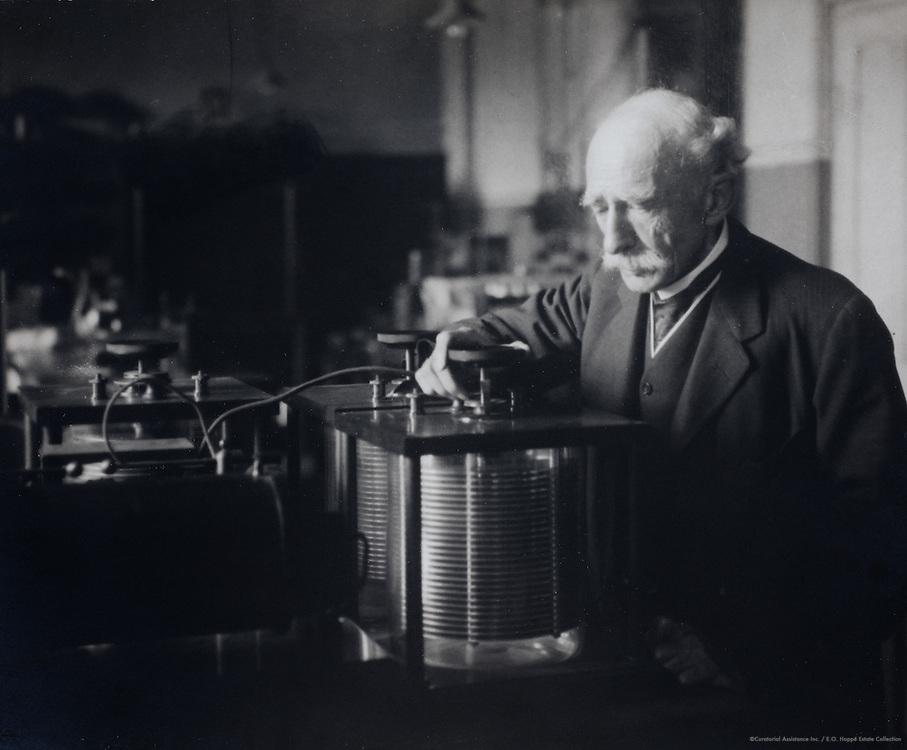 John Ambrose Fleming, Scottish lawyer and businessman, Scotland, UK, 1922