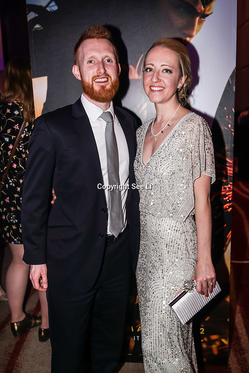 Westminster, UK. 20th Apr, 2017. Adie & Laura - Devine Bride attends The annually National UK Blog Awards at Park Plaza Westminster Bridge, London. by See Li