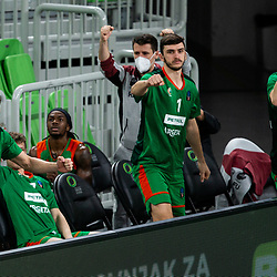 20210119: SLO, Basketball - EuroCup 2020/21, KK Cedevita Olimpija vs Buducnost