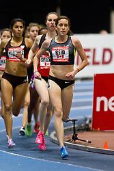 New Balance Indoor Grand Prix track meet: Women's 2 Mile, Sheila Reid, CAN