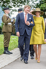 Dutch Royals state visit to Luxembourg - 23 May 2018