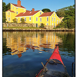 """Wentworth-Coolidge Mansion State Historic Site in Portsmouth, New Hampshire. iPhone photo - suitable for print reproduction up to 8"""" x 12""""."""