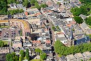 Nederland, Gelderland, Zevenaar, 09-06-2016; centrum van Zevenaar met Markt en Kerkstrata, Andreaskerk.<br /> luchtfoto (toeslag op standard tarieven);<br /> aerial photo (additional fee required);<br /> copyright foto/photo Siebe Swart