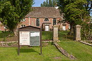 The Moravian church, East Tytherton, Wiltshire, England, UK built 1792-94