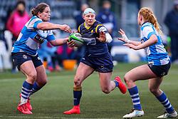 Heather Fisher of Worcester Warriors Women  - Mandatory by-line: Nick Browning/JMP - 09/01/2021 - RUGBY - Sixways Stadium - Worcester, England - Worcester Warriors Women v DMP Durham Sharks - Allianz Premier 15s