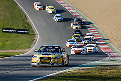 Rob Austin | #101 Exocet AlcoSense Audi A4 | Dunlop MSA BTCC | Race 3 - Photo mandatory by-line: Rogan Thomson/JMP - 07966 386802 - 05/04/2015 - SPORT - MOTORSPORT - Fawkham, England - Brands Hatch Circuit - British Touring Car Championship Meeting Day 2.