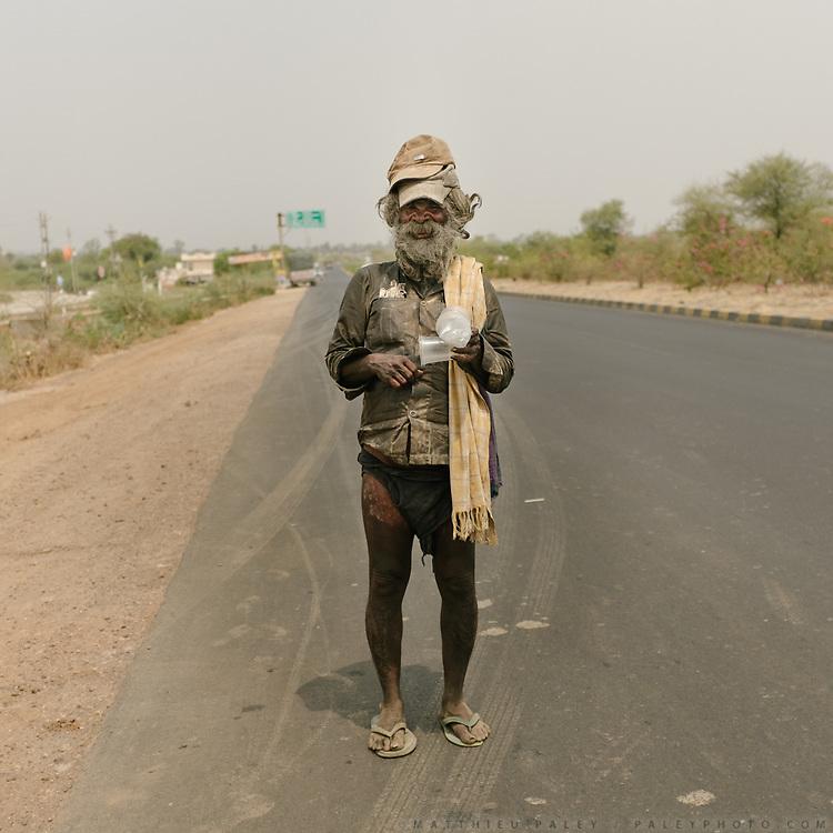 A begger.<br /> Uttar Pradesh Province.