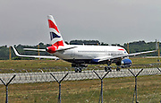 British Airways Airbus A320, Photographed at Malpensa airport, Milan, Italy