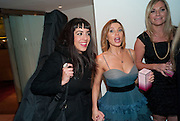 RUTH LORENZO; ( WAS IN SCISSOR SISTERS)  DANNII MINOGUE, Tea party in celebration of Project D by Dannii and Tabitha at Harvey Nicholls. Knightsbridge. London. 26 October 2010.  ( This is the launch of a fragrance by Dannii Minogue and Tabitha Somerset Webb ..) and -DO NOT ARCHIVE-© Copyright Photograph by Dafydd Jones. 248 Clapham Rd. London SW9 0PZ. Tel 0207 820 0771. www.dafjones.com.