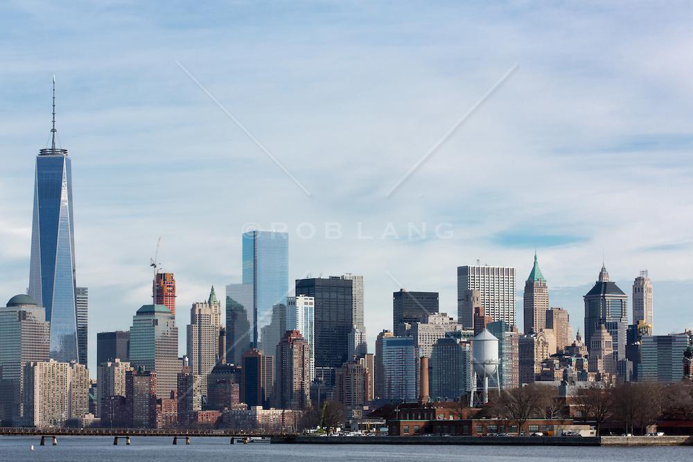 Lower Manhattan skyline, 2015