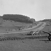 Hitler built a super highway for his military machine but the allies found it to be usefull also. April 1945, Germany