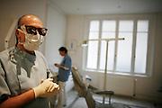 Wednesday December 3rd 2008. Paris, France..At the dentist..Rue de la Pompe - 16th Arrondissement..