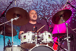 Al Murray with Fat Cops on the main stage. Party at the Palace 2019.