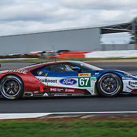 #67, Ford Chip Ganassi Team UK, Ford GT, LMGTE Pro, driven by: Andy Priaulx, Harry Tincknell on 16/08/2018 at the Silverstone 6H, 2018