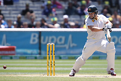 © Licensed to London News Pictures. 29/12/2013. Shane Watson batting during Day 4 of the Ashes Boxing Day Test Match between Australia Vs England at the MCG on 29 December, 2013 in Melbourne, Australia. Photo credit : Asanka Brendon Ratnayake/LNP