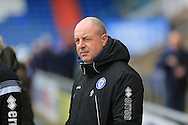 Keith Hill during the Sky Bet League 1 match between Oldham Athletic and Rochdale at Boundary Park, Oldham, England on 19 March 2016. Photo by Daniel Youngs.
