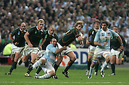 IRB Rugby World cup 2007    South Africa v Argentina<br /> picture by Andrew Orchard