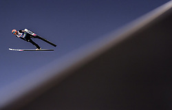 28.02.2019, Seefeld, AUT, FIS Weltmeisterschaften Ski Nordisch, Seefeld 2019, Skisprung, Herren, Qualifikation, im Bild Dawid Kubacki (POL) // Dawid Kubacki of Poland during his Qualification Jump of men's Skijumping of FIS Nordic Ski World Championships 2019. Seefeld, Austria on 2019/02/28. EXPA Pictures © 2019, PhotoCredit: EXPA/ JFK