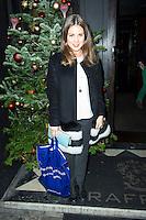 Louise Thompson,Made In Chelsea - perfume launch, Raffles, 287 King's Road, Chelsea, London UK, 09 December 2013, Photo by Raimondas Kazenas