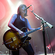 Lush perform at the 9:30 Club in Washington, D.C. as part of their 2016 reunion tour. (Photo by Kyle Gustafson)