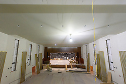 Central High School Bridgeport CT Expansion & Renovate as New. State of CT Project # 015-0174. Auditorium. One of 80 Photographs of Progress Submission 38, 5 April 2018