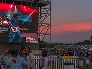 The sun goes down at the GMC Sierra Stage on the first night of CSUSA.<br /> <br /> For three days in August, country music fans celebrated at the Citadel Country Spirit USA music festival, held on the Ludwig's Corner Horse Show Grounds.