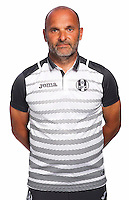 Head coach Pascal Dupraz of Toulouse during the photo shooting session of Toulouse FC for the new season 2016/2017 in Toulouse on September 16th 2016<br /> Photo : TFC / Icon Sport