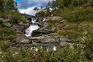 FUNÄSDALEN 20200906<br /> En av många forsar i Tvärån väster om Ramundberget.<br /> Bilder från Funäsdalen med omnejd.<br /> Foto:  Per Danielsson / Projekt.P