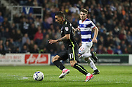 Brighton & Hove Albion winger Anthony Knockaert (11) during the EFL Sky Bet Championship match between Queens Park Rangers and Brighton and Hove Albion at the Loftus Road Stadium, London, England on 7 April 2017.