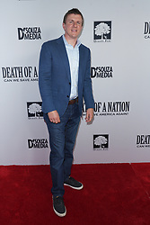 James O'Keefe at Death Of A Nation Los Angeles Premiere held at Regal L.A. Live: A Barco Innovation Center on July 31, 2018 in Los Angeles, California, United States (Photo by Jc Olivera for Jade Umbrella)