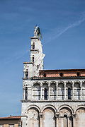 Exterior of the St Martin's Cathedral (Duomo di San Martino) Lucca, Tuscany, Italy