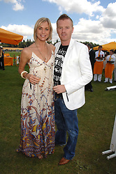 JENNI FALCONER and JAMES MIDGLEY at the final of the Veuve Clicquot Gold Cup 2007 at Cowdray Park, West Sussex on 22nd July 2007.<br /><br />NON EXCLUSIVE - WORLD RIGHTS