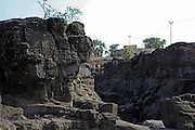 India, Maharashtra, rural Pune landscape