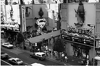 1979 Superman movie at Grauman's Chinese Theatre