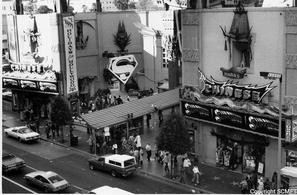 1979 Superman movie at Grauman's Chinese Theatre