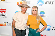 Ashlee Simpson and Husband Evan Ross  at the Wango Tango by AT&T at Banc of California Stadium 06/03/18