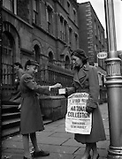 Collections for Rehabilitation Aid Committee - Special for Belfast Telegraph.23/12/1956